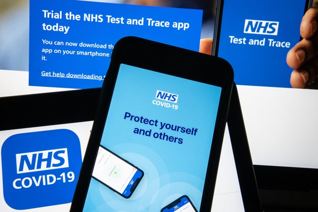 Coronavirus UK updates: NHS Covid app design flaw