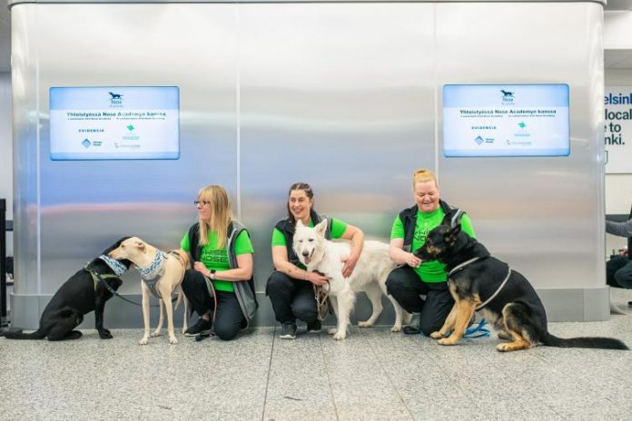 Finland to deploy virus-sniffing dogs at Helsinki Airport