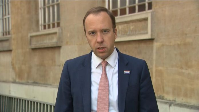 Matt Hancock: Second UK coronavirus lockdown not ruled out says Health Secretary, Report