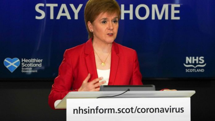 Nicola Sturgeon calls government Good Morning Britain boycott a