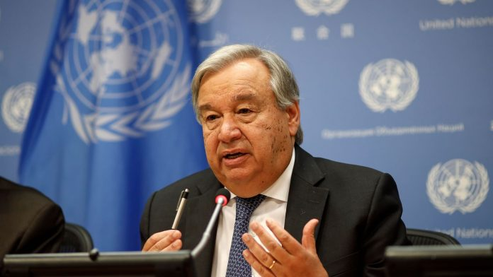 "Antonio Guterres says COVID-19 is ""the greatest crisis of our age"""