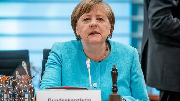 "Germany's Merkel planning ""lockdown light"" to tackle coronavirus, Report"