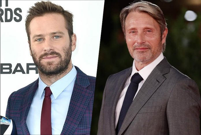 Mads Mikkelsen & Armie Hammer to Lead Billion Dollar Spy, Report