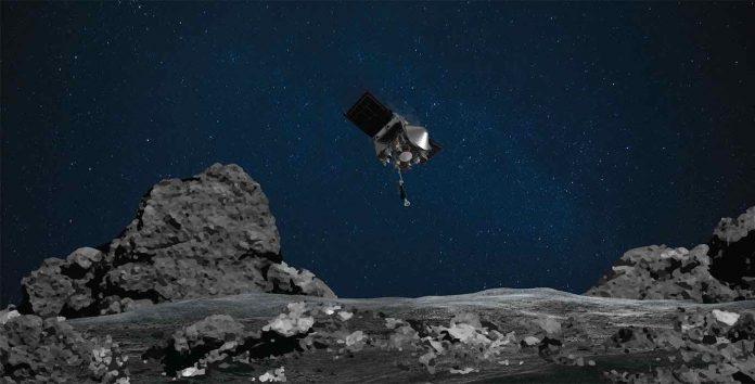 NASA's OSIRIS-REx Spacecraft Successfully Touches Asteroid Bennu