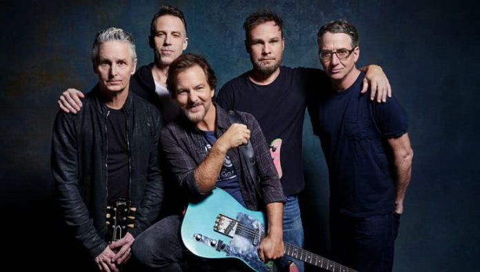 Pearl Jam Share New Song Get It Back, Stream