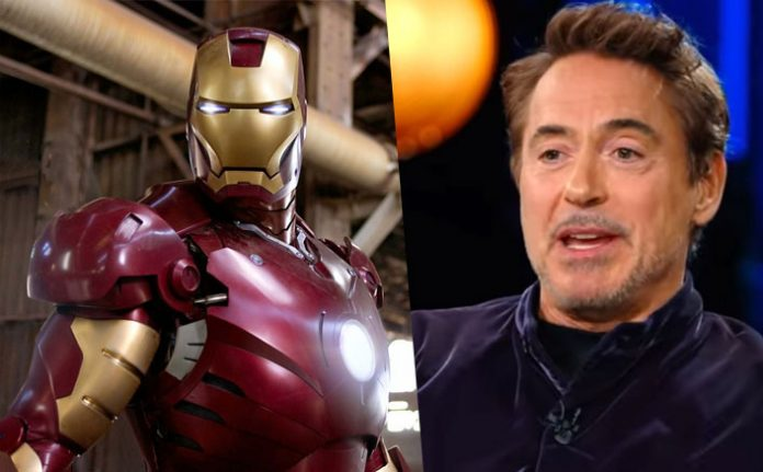 Robert Downey Jr. reveals original 'Iron Man' suit 'blinded' him, Report