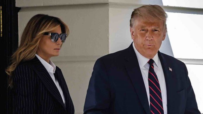 Trump, first lady test positive for Covid-19, Report
