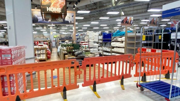 Wales lockdown: Supermarkets covering up non-essential items, Report