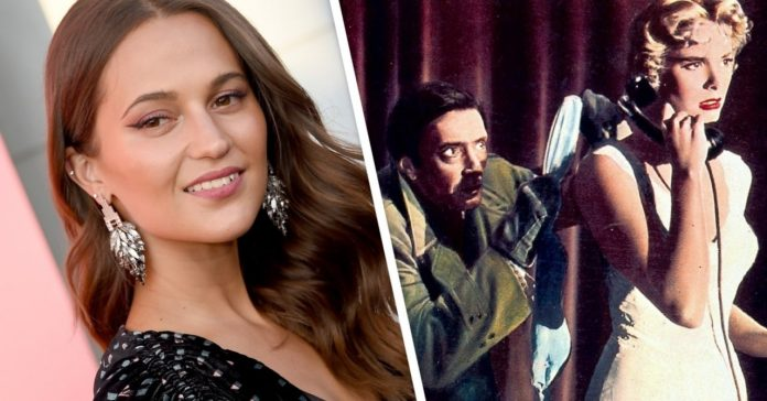 Alicia Vikander Developing Dial M for Murder TV Series, Report