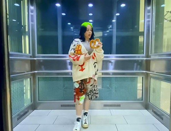 Billie Eilish drops her new single 'Therefore I Am' (Video)
