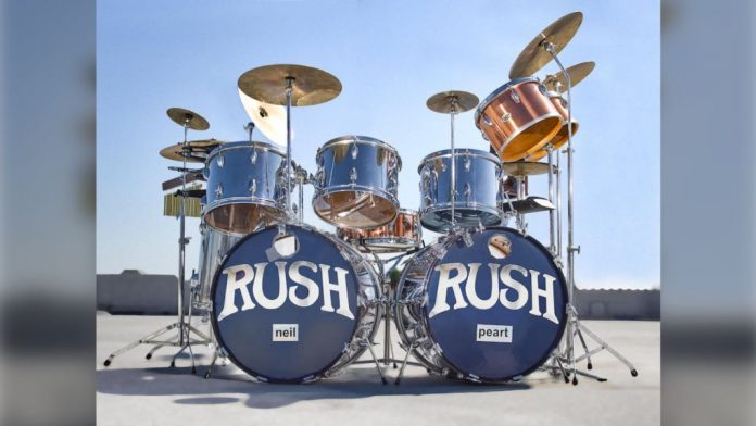 Neil Peart's '2112' Drum Kit Heading to Auction, Report