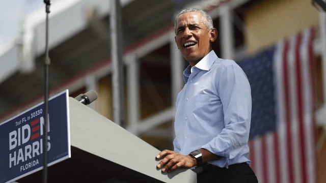US 2020 election: Obama casts Trump as a 'two-bit dictator'