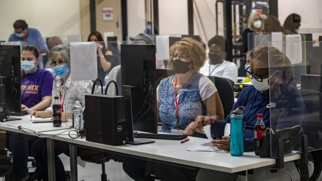 US Election Results 2020 LIVE: Biden's lead dwindles in Arizona, but the math still doesn't favor Trump