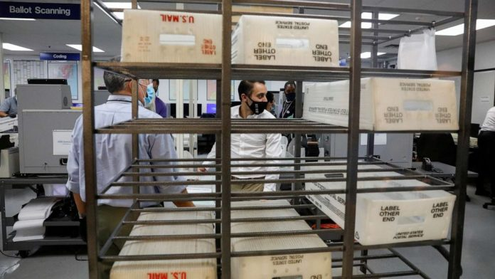US Election Results 2020 LIVE: Over 1,700 mail-in ballots found at USPS facilities in Pennsylvania