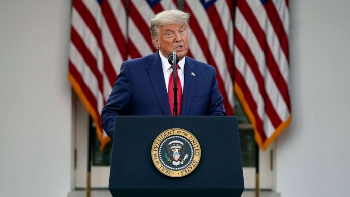 US Election Results 2020: Trump speaks publicly for first time since Biden projected as president-elect