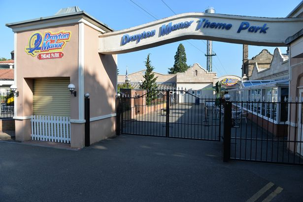 Animals safe despite fire at Drayton Manor, Report