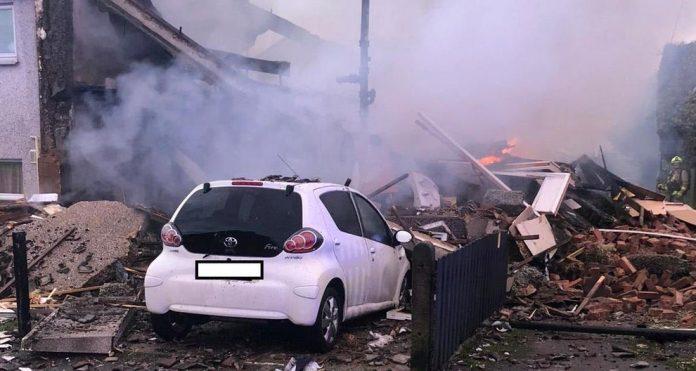 Illingworth explosion: Three people injured and six homes evacuated
