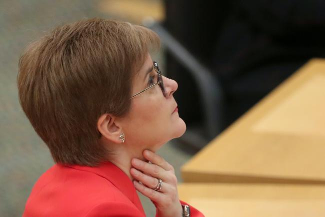 Nicola Sturgeon apologises for breaking mask rules at funeral, Report