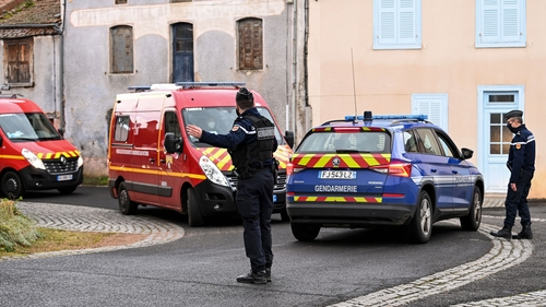 Suspect in shooting of French police found dead, Report
