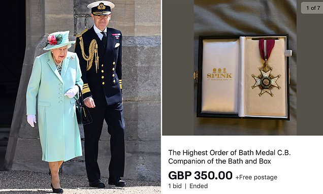 Buckingham Palace employee jailed for stealing medals and photos