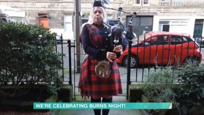 Burns Night 2021: This Morning theme tune gets bagpipes revamp to shock of unimpressed viewers