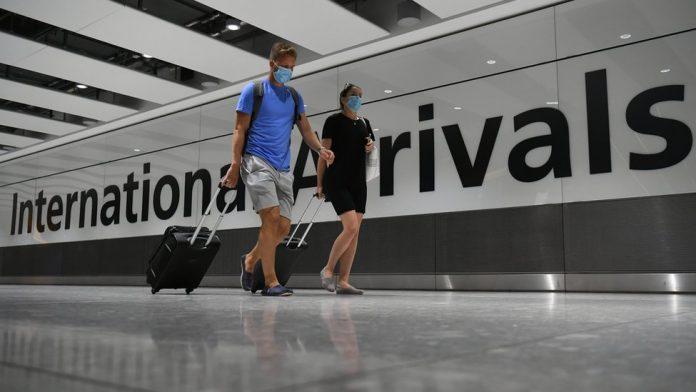 Coronavirus UK Updates: Travel ban comes into force