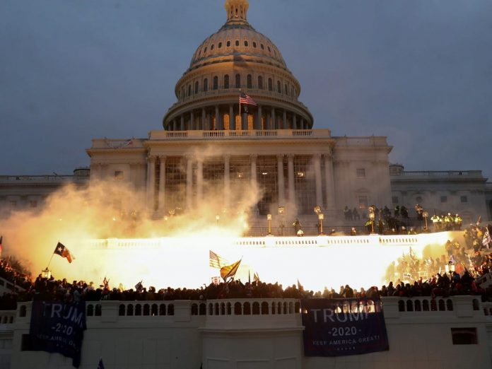 FBI Report Warned Of 'War' At US Capitol One Day Before Riot, Report