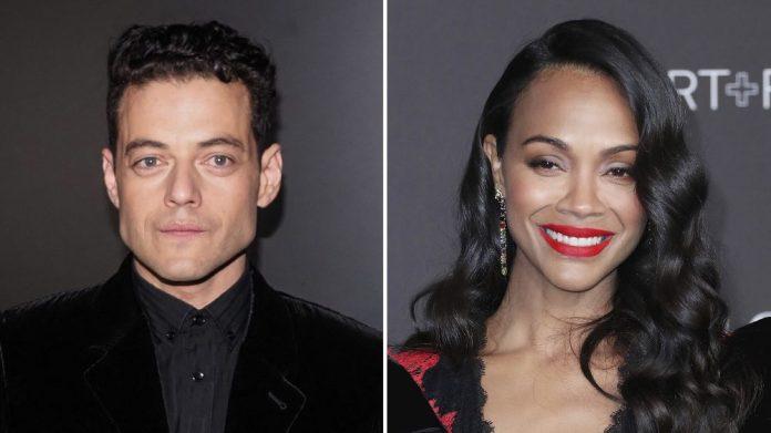 Report: Rami Malek and Zoe Saldana join ensemble cast of new David O. Russell movie