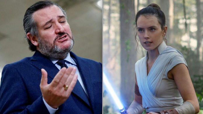 'Star Wars' Actress Daisy Ridley Responds to Ted Cruz