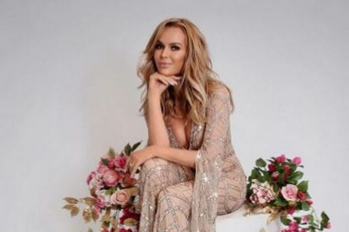 Amanda Holden stuns fans in Boohoo jumpsuit as she thanks family and friends for birthday messages (Photo)