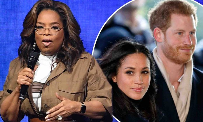 Harry and Meghan set to explain royal exit to Oprah Winfrey
