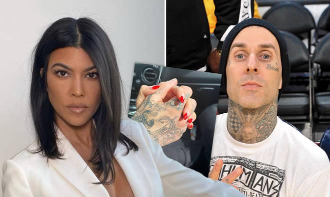 Kourtney Kardashian dating Blink-182 star Travis Barker, Report