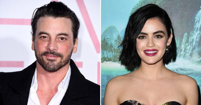 Lucy Hale photographed kissing Skeet Ulrich: New couple alert?