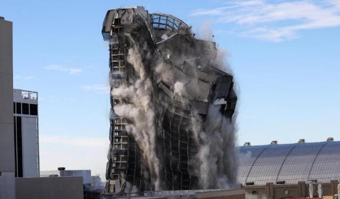 Watch the Trump Plaza implosion in Atlantic City