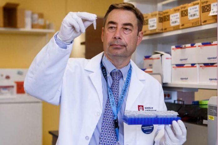 IU School of Medicine scientists develop blood test for depression, bipolar disorder